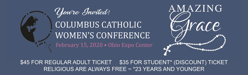 2020 Columbus Catholic Women's Conference Logo